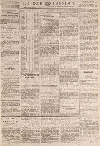 Leidsch Dagblad 1919-02-18