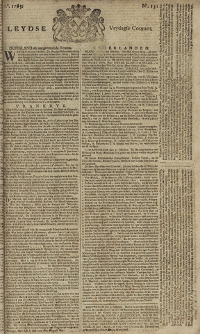 Leydse Courant 1765-11-01