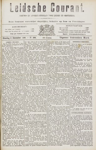 Leydse Courant 1889-12-03