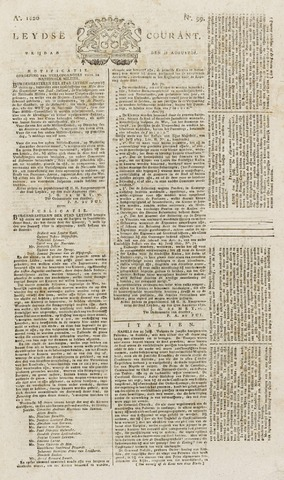 Leydse Courant 1820-08-18