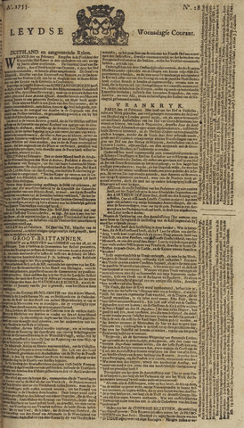 Leydse Courant 1755-03-05