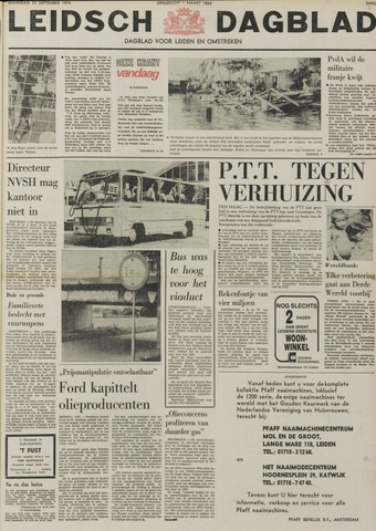 Leidsch Dagblad 1974-09-23