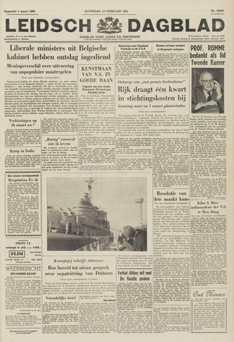 Leidsch Dagblad 1961-02-18