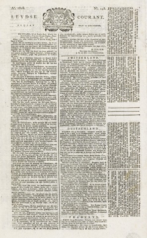 Leydse Courant 1818-12-11