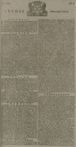 Leydse Courant 1734-01-18