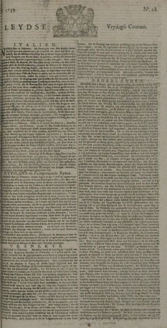 Leydse Courant 1739-03-06