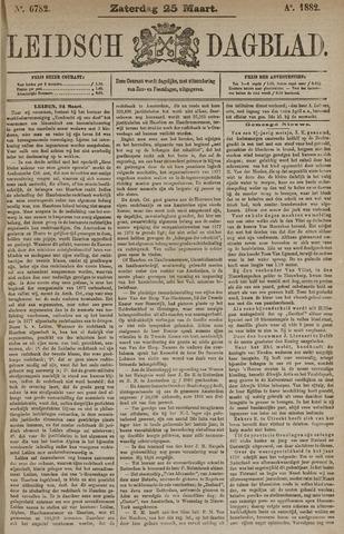 Leidsch Dagblad 1882-03-25