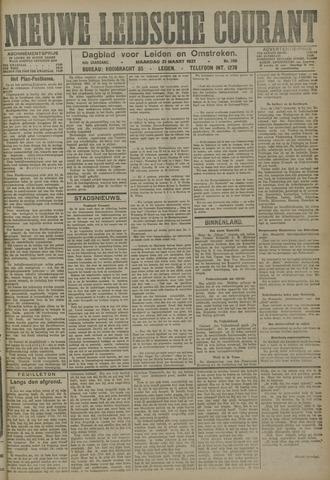 Nieuwe Leidsche Courant 1921-03-21