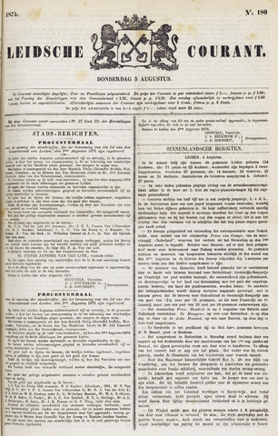 Leydse Courant 1875-08-05