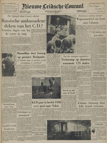 Nieuwe Leidsche Courant 1957-09-03