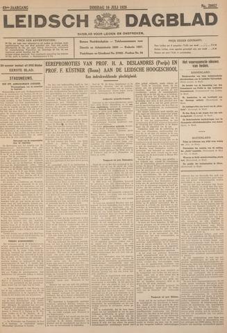 Leidsch Dagblad 1928-07-10