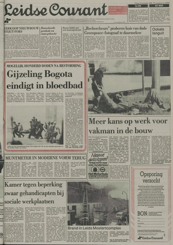 Leidse Courant 1985-11-08