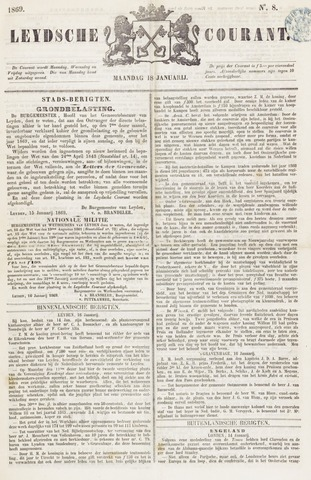 Leydse Courant 1869-01-18