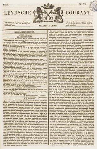 Leydse Courant 1860-06-15