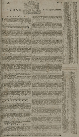 Leydse Courant 1748-04-17