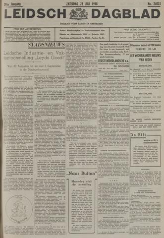 Leidsch Dagblad 1938-07-23