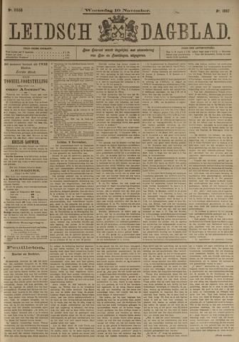 Leidsch Dagblad 1897-11-10