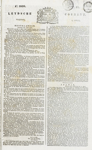 Leydse Courant 1838-04-13