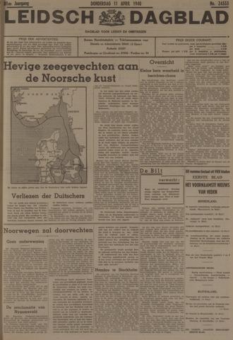 Leidsch Dagblad 1940-04-11