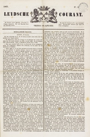 Leydse Courant 1865-01-20
