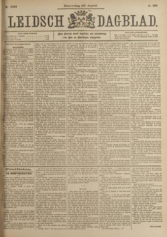 Leidsch Dagblad 1899-04-15