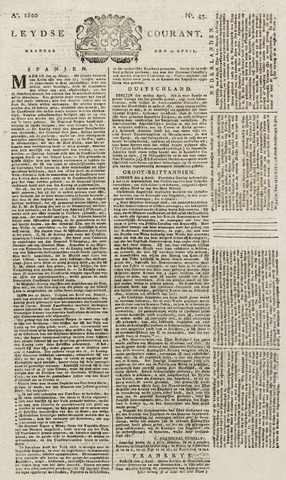 Leydse Courant 1820-04-10