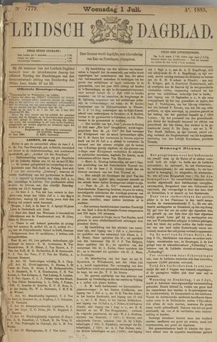 Leidsch Dagblad 1885-07-01