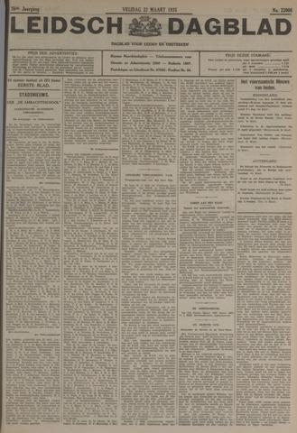 Leidsch Dagblad 1935-03-22