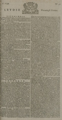 Leydse Courant 1739-04-22