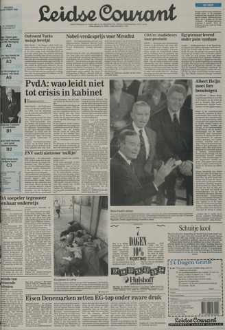 Leidse Courant 1992-10-16