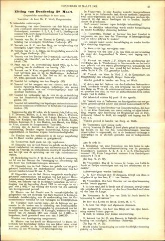 Handelingen van de Raad 1901-03-28