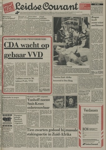 Leidse Courant 1984-11-06