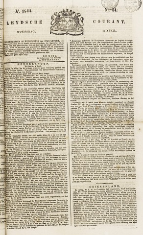 Leydse Courant 1844-04-10