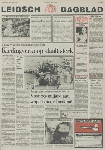 Leidsch Dagblad 1985-10-22