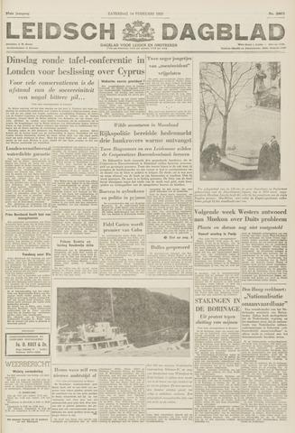 Leidsch Dagblad 1959-02-14