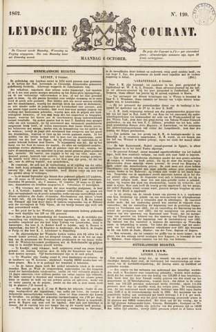 Leydse Courant 1862-10-06
