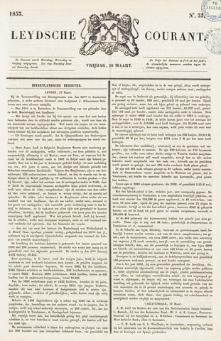 Leydse Courant 1853-03-18