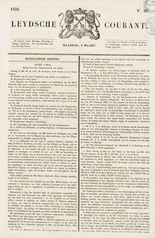 Leydse Courant 1852-03-08