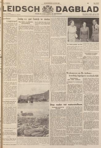Leidsch Dagblad 1951-06-14