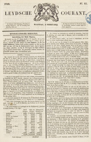 Leydse Courant 1846-02-09