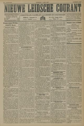 Nieuwe Leidsche Courant 1927-06-07