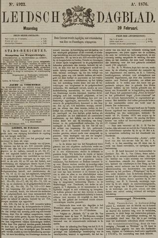 Leidsch Dagblad 1876-02-28