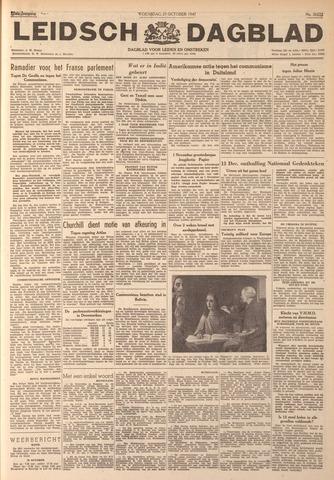 Leidsch Dagblad 1947-10-29