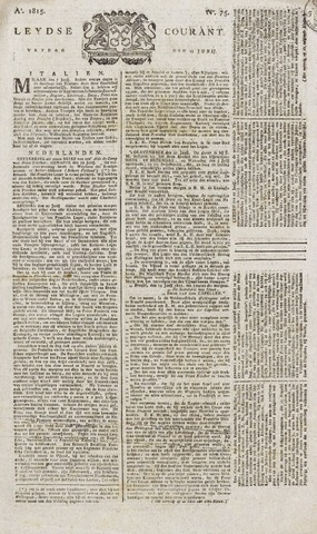 Leydse Courant 1815-06-23