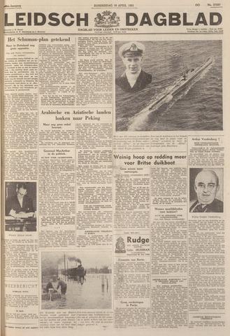 Leidsch Dagblad 1951-04-19