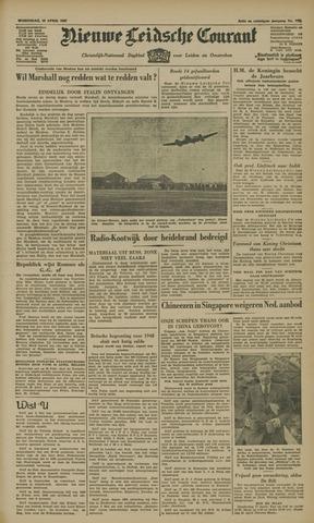 Nieuwe Leidsche Courant 1947-04-16