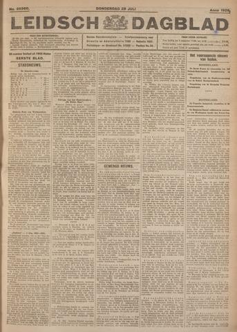 Leidsch Dagblad 1926-07-29