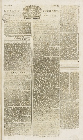 Leydse Courant 1819-05-21