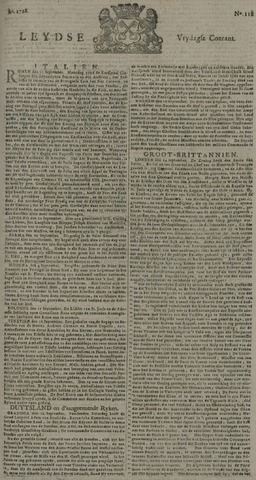 Leydse Courant 1728-10-01