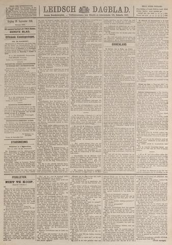 Leidsch Dagblad 1919-09-26